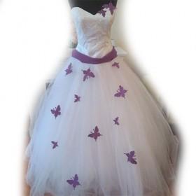 Промо-платье с бабочками