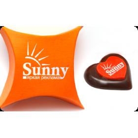 Промо шоколад с логотипом