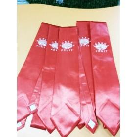 Фирменные галстуки с лого для «Аграна Фрут»