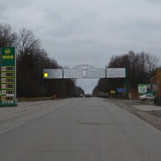 Борд объездная и Хмельницкое шоссе, выезд