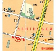 Борд ул. Келецкая, 81 (сторона В)