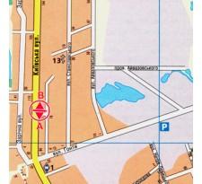 Борд ул. Киевская, 104 (сторона В)